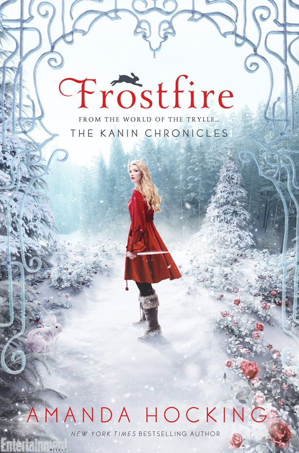 Cover Reveal: Frostfire (Kanin Chronicles #1) by Amanda Hocking -On sale January 6th 2015 by St. Martin's Griffin -Bryn Aven is an outcast among the Kanin, the most powerful of the troll tribes. Set apart by her heritage and her past, Brynn is a tracker who's determined to become a respected part of her world. She has just one goal: become a member of the elite King's Guard to protect the royalty.
