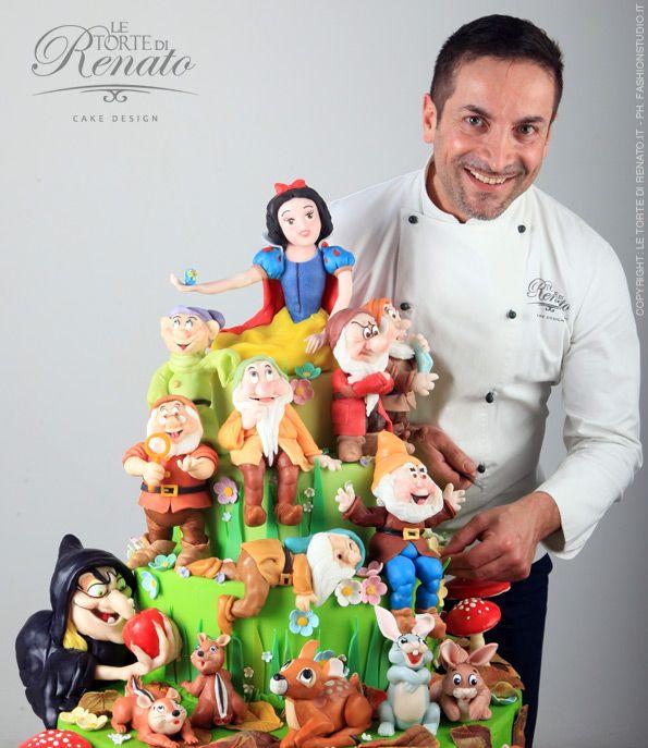 Renato Ardovino e la torta di biancaneve