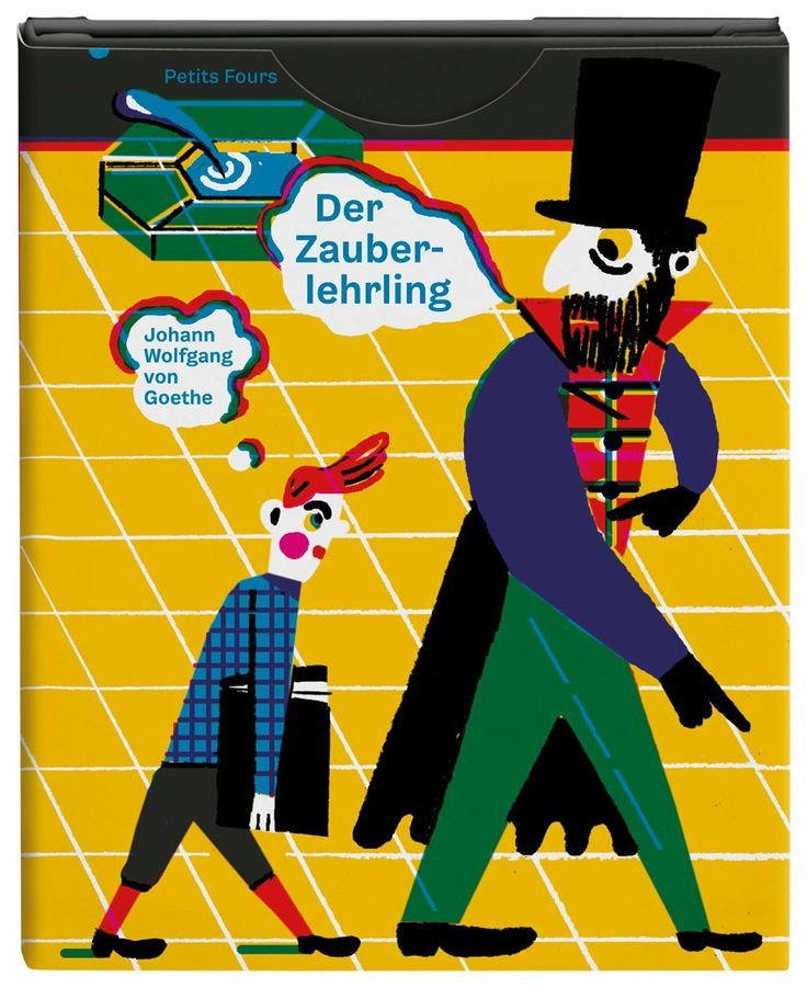 Der Zauberlehrling: Johann Wolfgang von Goethe, Ulrike Steinke: 9783864060168: Amazon.com: Books
