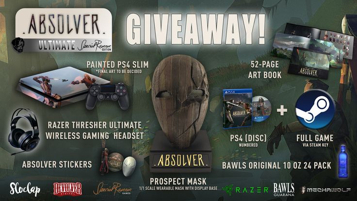Devolver Digital and Special Reserve Games Absolver Ultimate PS4 Giveaway! https://wn.nr/Z98hA7