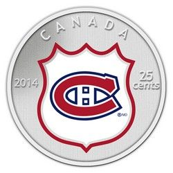 Royal Canadian Mint 2014 25c NHL Coin and Stamp Gift Set Montreal Canadiens $29.95 #coin #coins #hockey #nhl #montreal #canadiens #montrealcanadiens #habs
