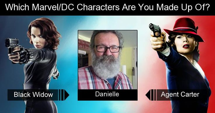 Which Marvel/DC Characters Are You Made Up Of?