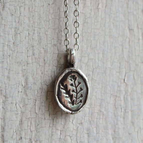 Often times our most wonderful discoveries are merely the recognition of what is before us - and in this case under foot! Our botanical jewelry