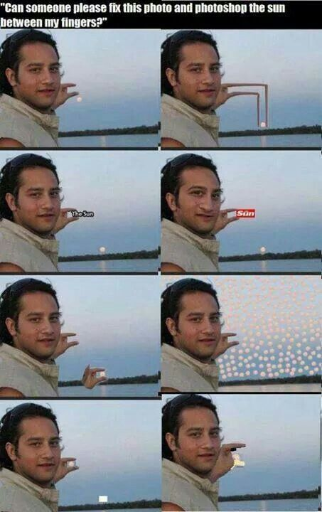 This is hilarious, photoshop funny sun fail lol x | Funny ...  This is hilario...