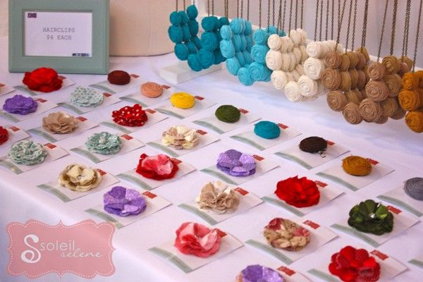 Craft Booth inspiration