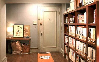 entryway - carrie's apartment in Sex and the City
