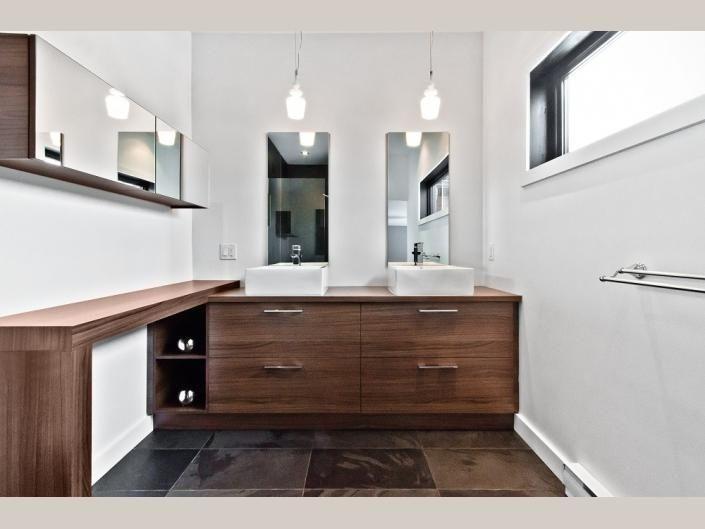 tendances concept montral salle de bains dcor 000064 salle de bain vanit contemporain - Salle De Bain Vanite Montreal