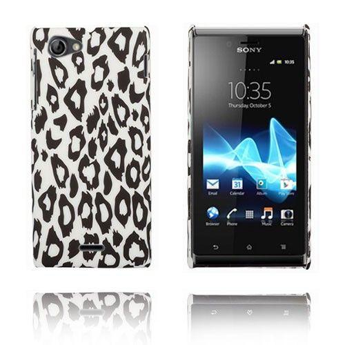Zebra (Leopard) Sony Xperia J Etui