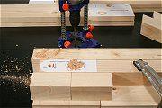 Bauanleitung für ein zusammenklappbares Hängematten-Gestell aus Holz
