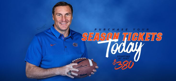 Gators Football - Purchase Your Season Tickets Today Starting at Just $380
