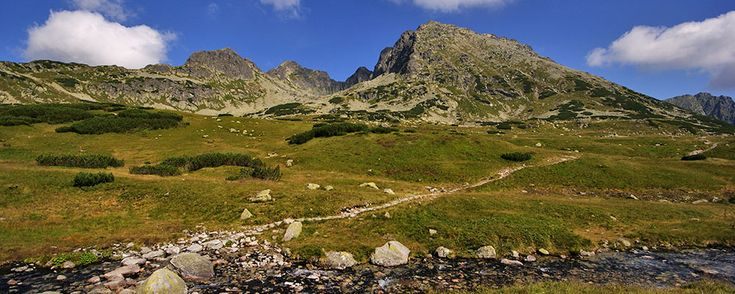 Tatra National Park, Tatra Mountains. Polish Tatra National Park on the 12th place in the ranking of CNN.