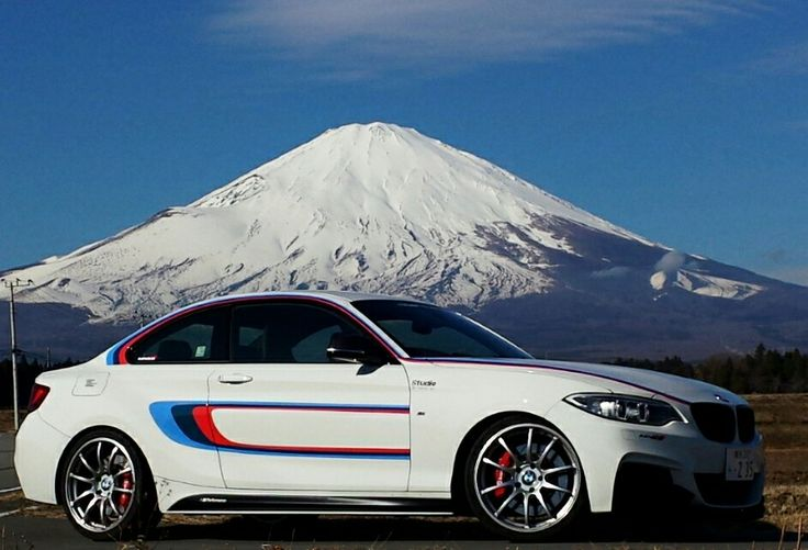 富士山とBMW | BMW Series - Ultimate Driving Experience ...