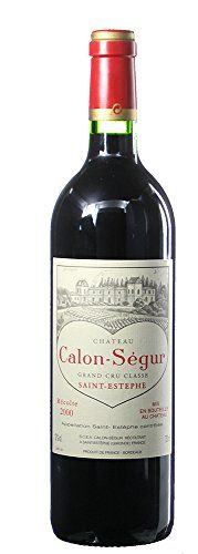 2000 Calon Segur, Bordeaux 750 mL Wine >>> You can find more details by visiting the image link.