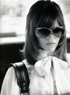 Jane Fonda started the 70s as one of the biggest names in Hollywood, thanks to her starring role in cult 60s hit Barbarella. Like all greats, she adapted easily with the times.  A love of high necklines, pussybow blouses and amazing eyewear! Helped her through the 70s with her style cred intact. Be Inspired by ;  Lunetier Vintage ; 1970'S - 1980'S Collection