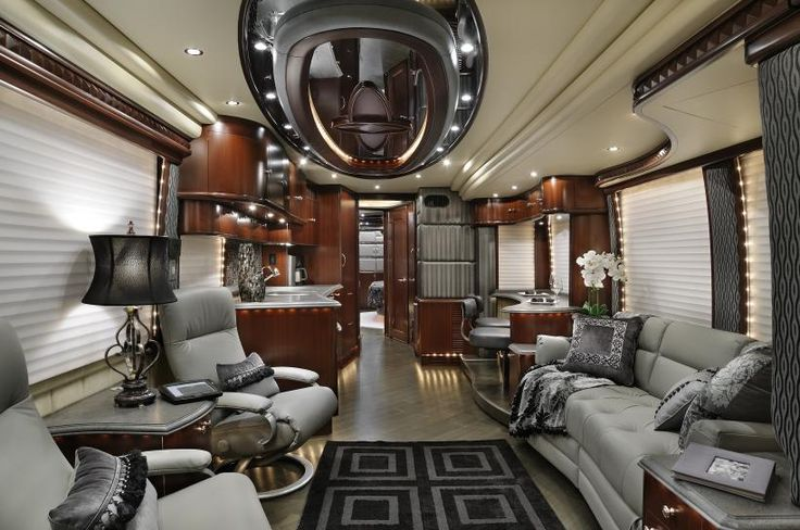 New luxury motorcoach 2012 prevost 43 45 custom for Million dollar motor coaches