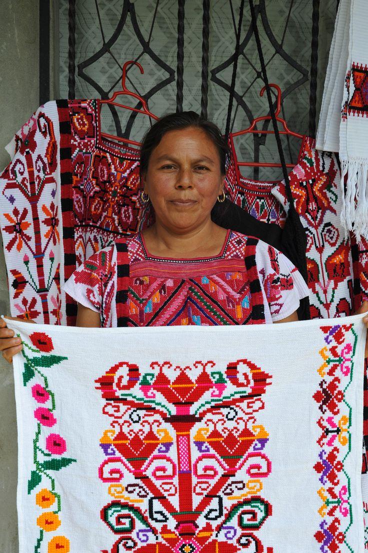 Chinantec Embroidery, Rancho Grande, Oaxaca, Mexico