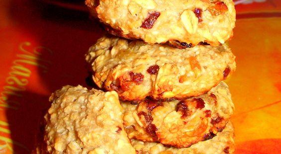 Очень полезные овсяные печенья БЕЗ МУКИ!!!