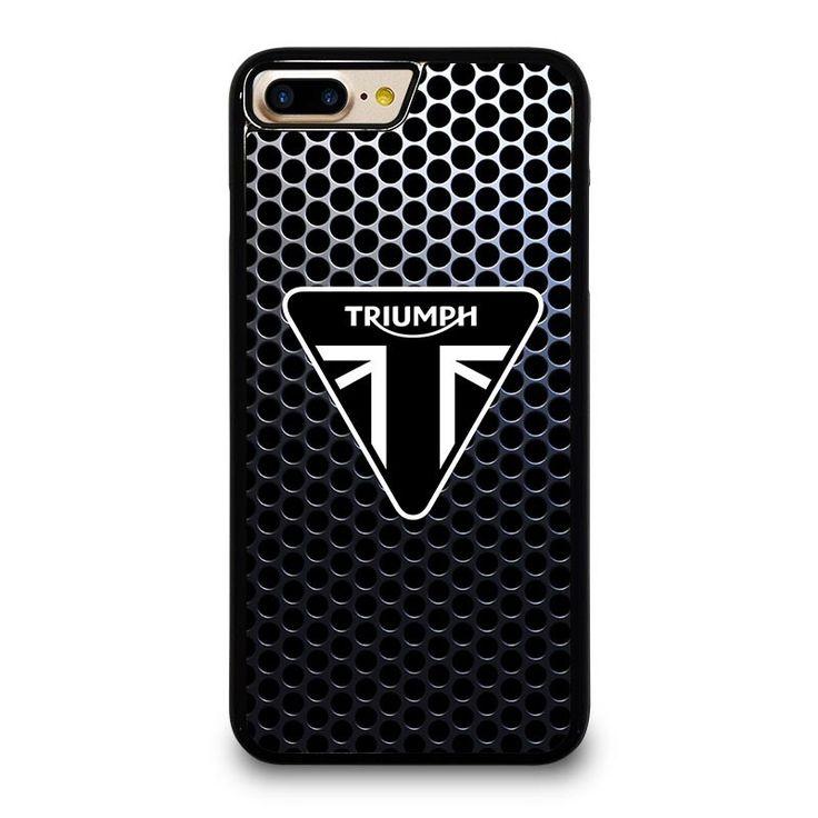 TRIUMPH MOTORCYCLE LOGO iPhone 4/4S 5/5S 5C 6/6S 6/6S 7/7S Plus SE