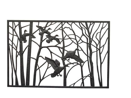 Duck Cast Iron Panel Homes Cast Iron Railings Driveway Gate