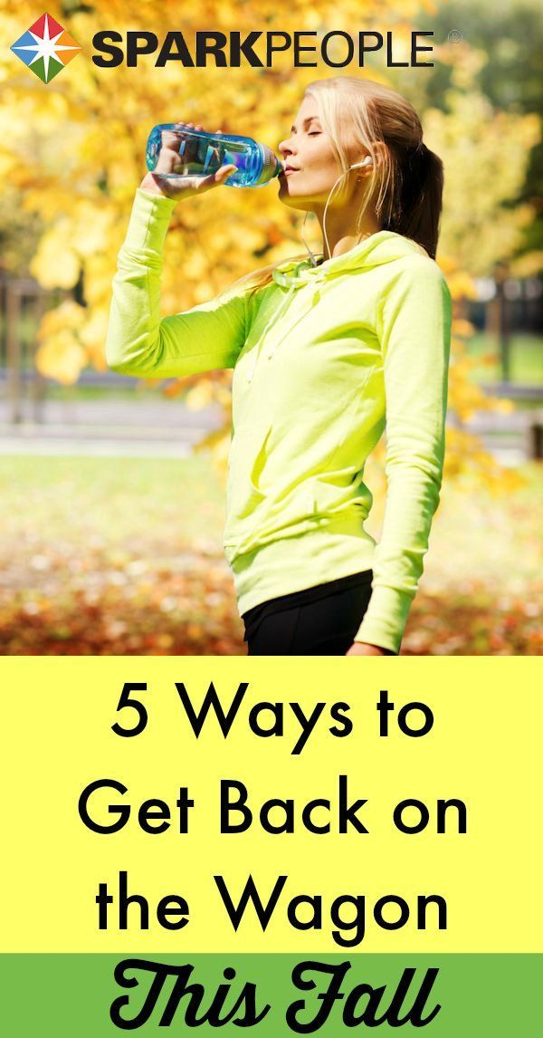 Get Back on the Wagon: 5 Tips to Start Fresh this Fall | via @SparkPeople #fall #motivation #fitness #diet #health