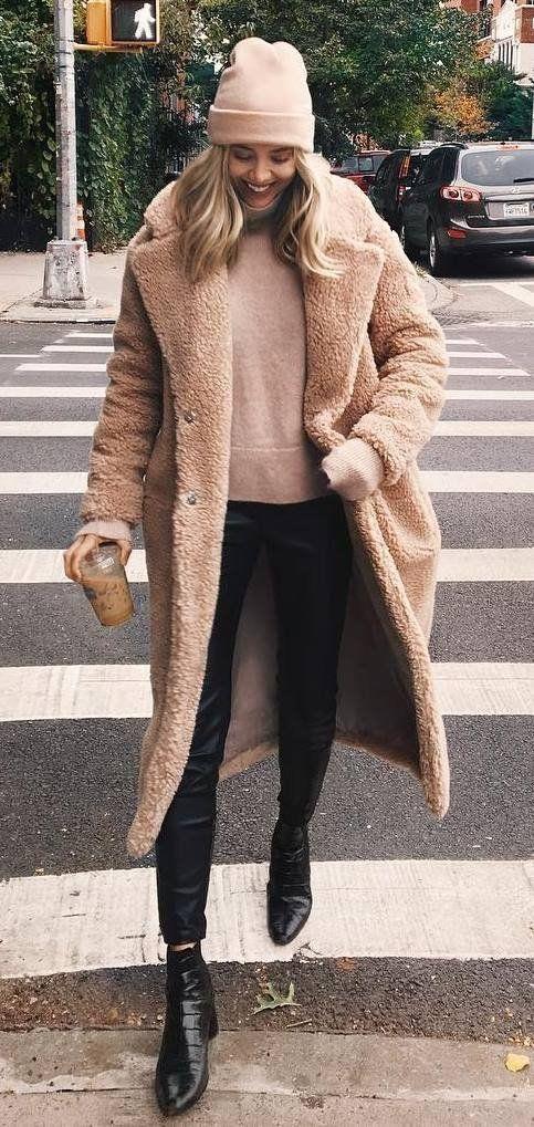 옷 잘 입는법, 여자 무스탕 코디 # 90 : 네이버 포스트 3