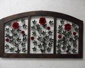Painel Janela de Rosas: Crafts