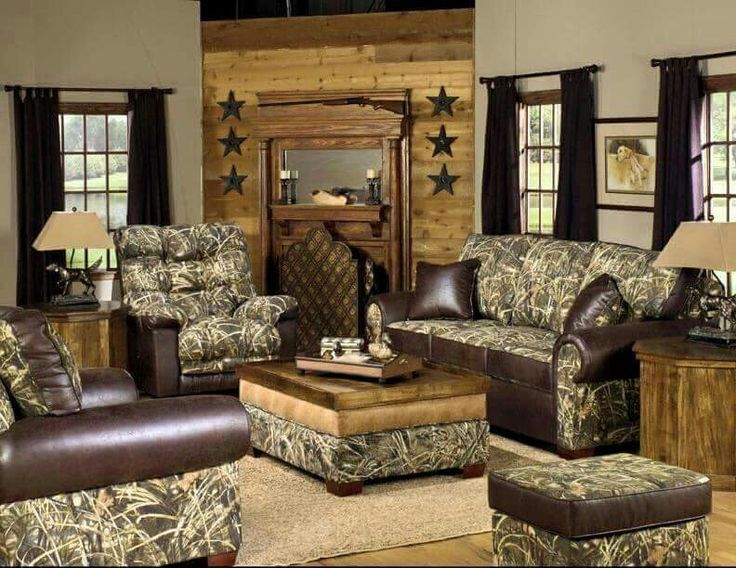 Camo living room