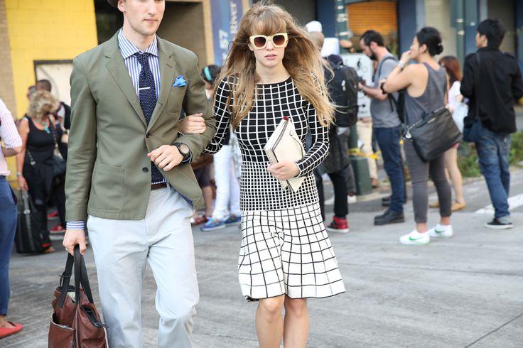 Street look à la Fashion Week printemps-été 2014 de New York, Jour 5