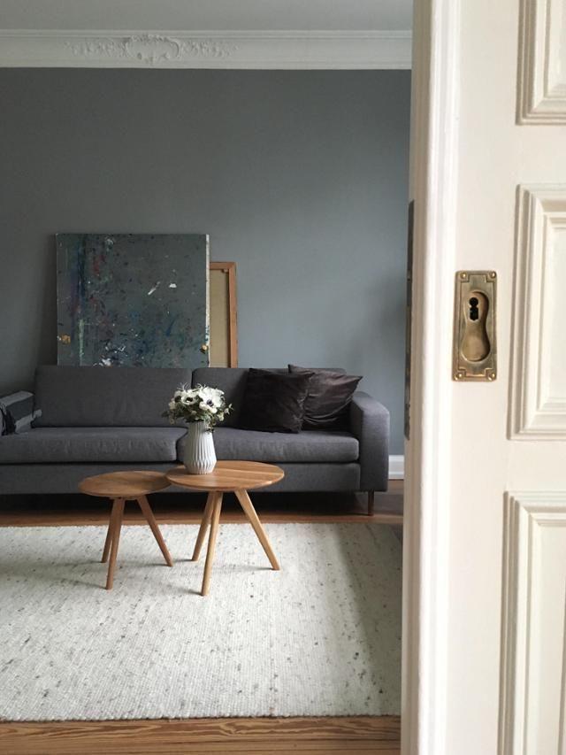 30 besten Wohnen in Grau Bilder auf Pinterest Grau, Wohnideen - einrichtung mit exotischer deko altbau