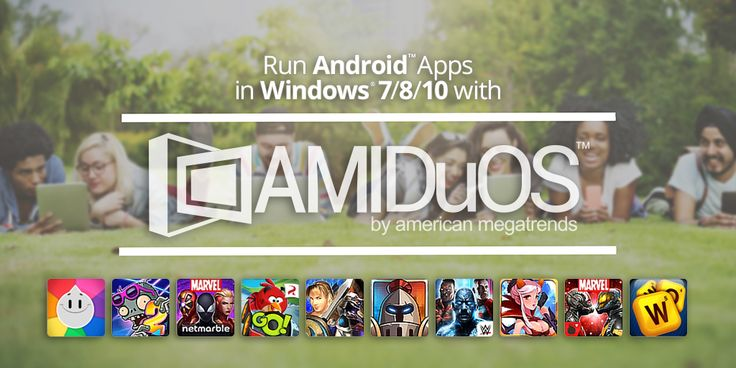 AMIDuOS, Run Android apps on Windows. Full version license giveaway