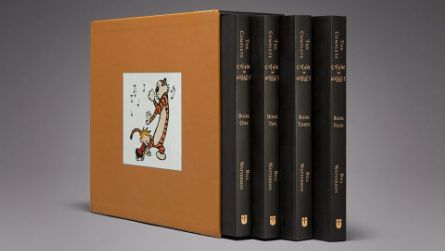 The Complete Calvin and Hobbes  #books #calvinhobbes #collectors #comic For those of us who grew up reading Calvin and Hobbes this is a must have collector's item. This collection consists of three volumes of every comic strip throughout its eleven-year history. (1985-1996) Nuff said. I want it now. http://www.instantwant.com/recommends/educational/complete-calvin-hobbes/