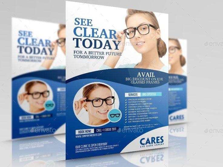Optometrist Eye Care Flyer Affiliate Eye, Affiliate,