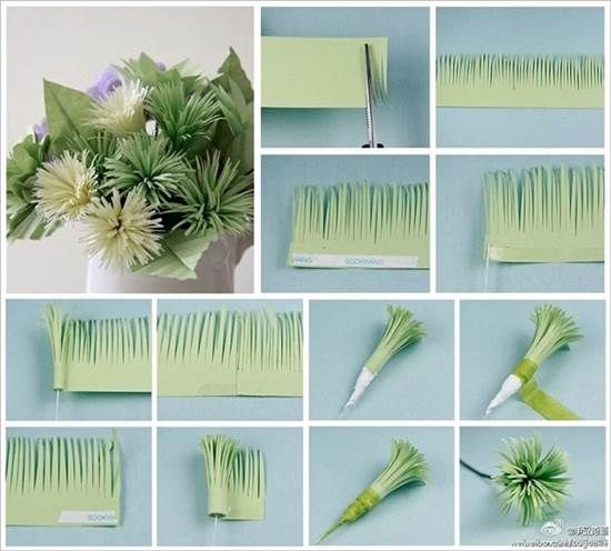 How to diy easy and beautiful paper flowers beautiful for Flower pot making with waste material