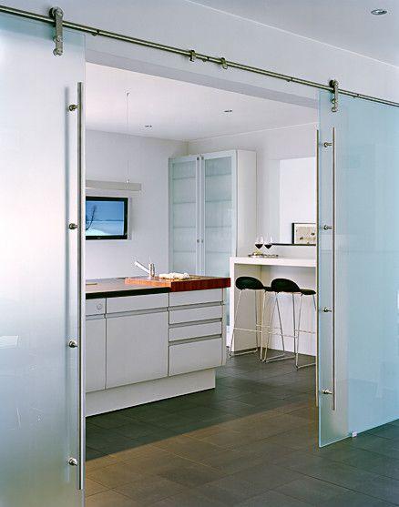 James Silverman Sodebergantur Glass Barn Doors Glass