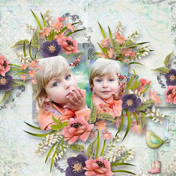 """""""Growing Beautifully"""" by DitaB Designs  https://www.pickleberrypop.com/shop/manufacturers.php?manufacturerid=164  save 30%  Templates 29_3 by Pat's Scrap  http://www.digiscrapbooking.ch/shop/index.php?main_page=product_info&cPath=6&products_id=21522  RAK pro Markétu Popelkovou"""