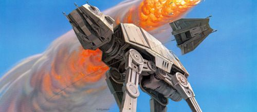 humanoidhistory:  Ralph McQuarrie concept art for The Empire Strikes Back (1980)