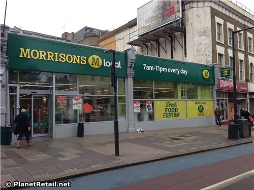 Morrisons M Local, (Clapham High Street, London)  - Convenience stores http://www.planetretail.net/Reports/VirtualTourDetails?itemID=174562 - Morrisons M Local Clapham is among the first of a planned 100 convenience outlets the retailer plans for the UK this year.
