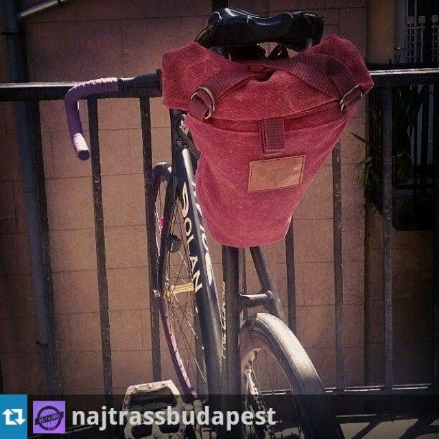#Repost from @najtrassbudapest  New saddle bag - új nyeregtáska via Blind Chic!  #blindchic #fixie #fixedgear #Ráss #nájtráss #Budapest