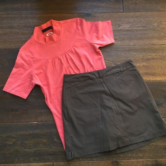 Lady Hagen golf skirt size 6 Brown Lady Hagen golf skirt. Size 6 Two front pockets and one back pocket. Brown shorts underneath. Worn once. In great condition! Lady Hagen Skirts