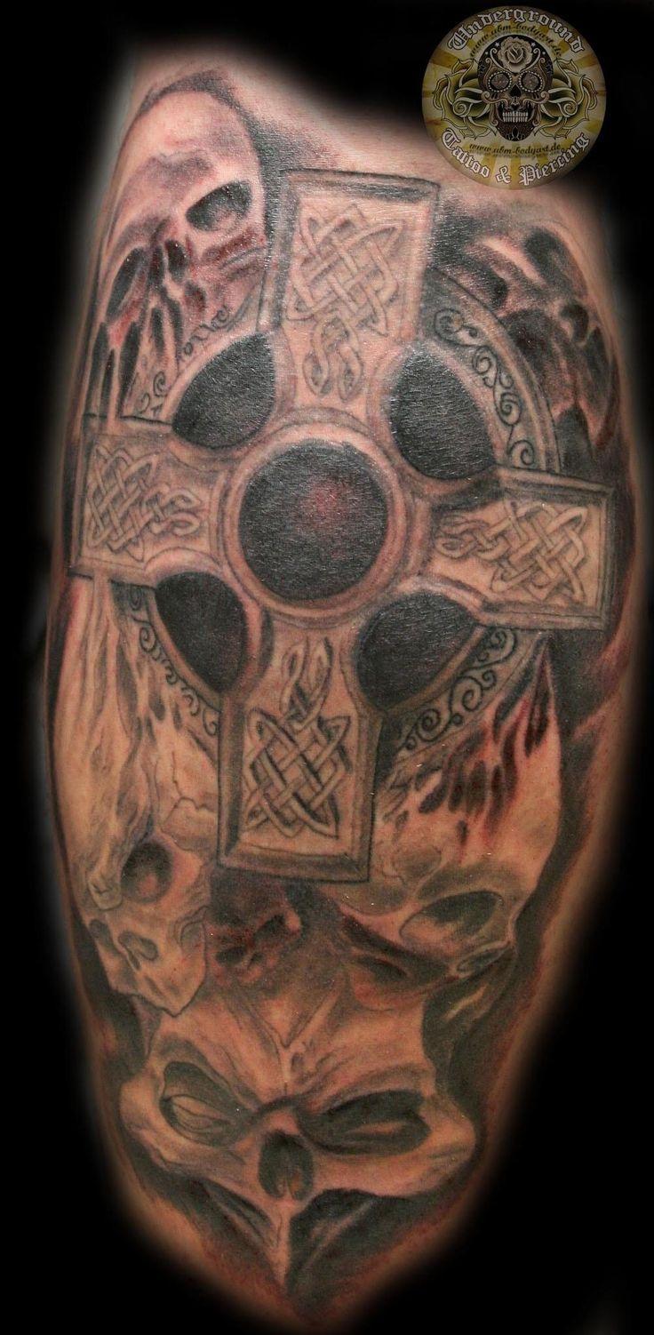 Best 25 skull face tattoo ideas on pinterest skull for Celtic skull tattoo