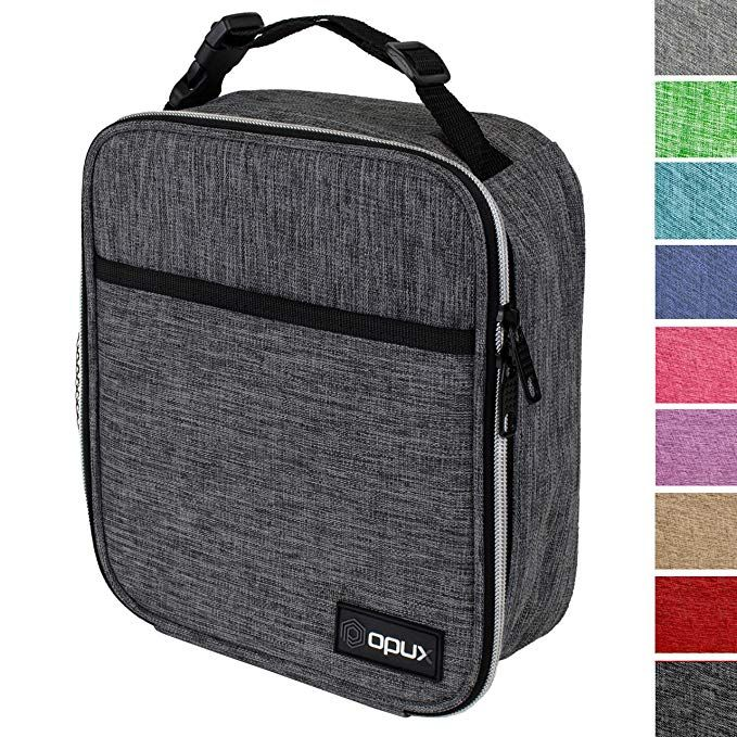 239850ab262b OPUX Premium Thermal Insulated Mini Lunch Bag   School Lunch Box For ...