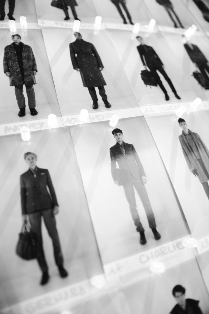 #backstage #board #fashionshow #models #gettingready #canali #canali1934 #mfw #fw14