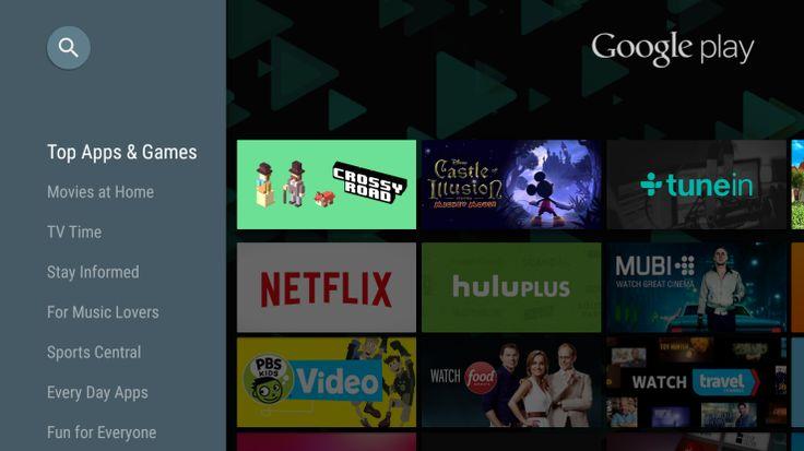 Play Store 5.5.15 : plus de 600 jeux et applications pour Android TV - http://www.frandroid.com/produits-android/tv-connectee-produits/android-tv/288284_play-store-5-5-15-plus-de-600-jeux-applications-android-tv  #AndroidTV