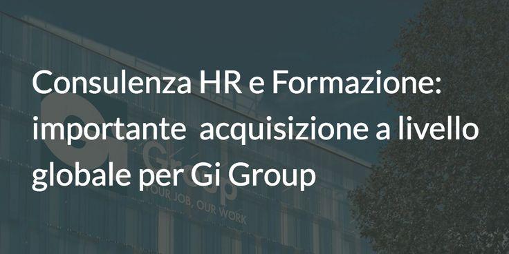 Gi Group, prima multinazionale italiana del lavoro presente in oltre 40 paesi in…