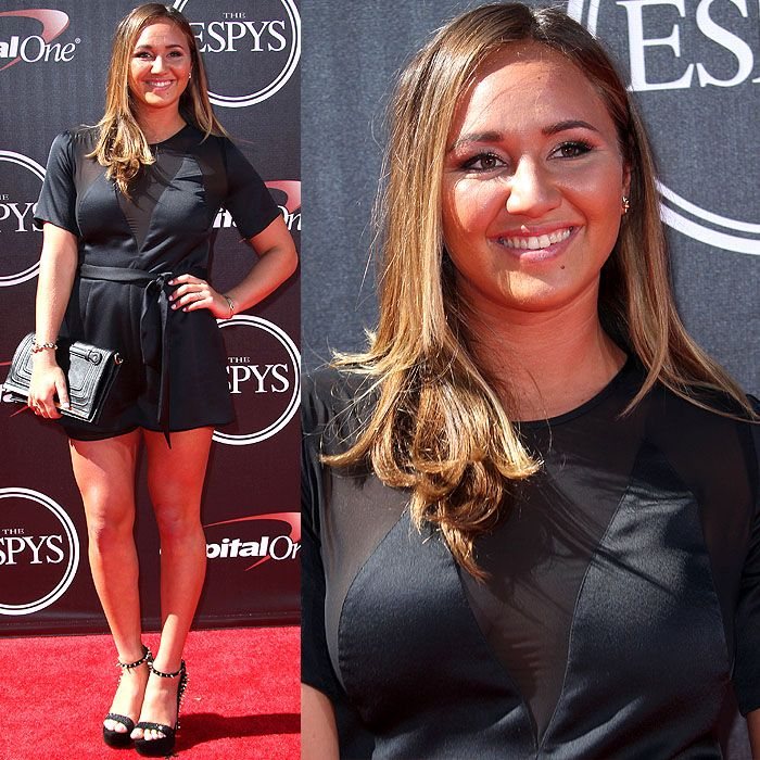 | youthful vibe to the ESPY Awards show was 22-year-old Carissa Moore ...