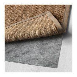 IKEA - OSTED, Tapete, tecelagem plana, 133x195 cm, , O tapete é resistente e duradouro, porque é feito de sisal, uma fibra natural proveniente do agave.
