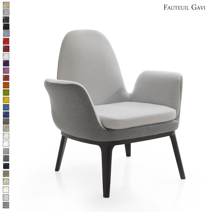Fauteuil Gavi de prestige personnalisable par Inspiration Luxe. Livraison en France et en Europe.  #déco #fauteuil #design #
