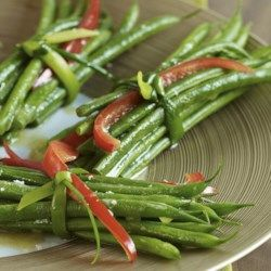 Green Bean Bundles with Garlic Browned Butter - EatingWell.com