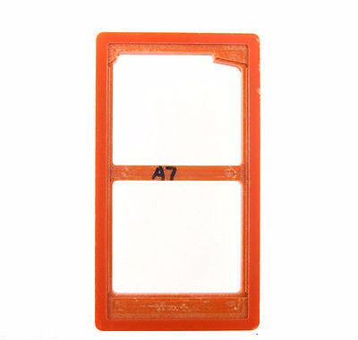 LCD Outer Glass UV Loca Glue Alignment Mould Mold For Samsung Galaxy A7 SM-A700F