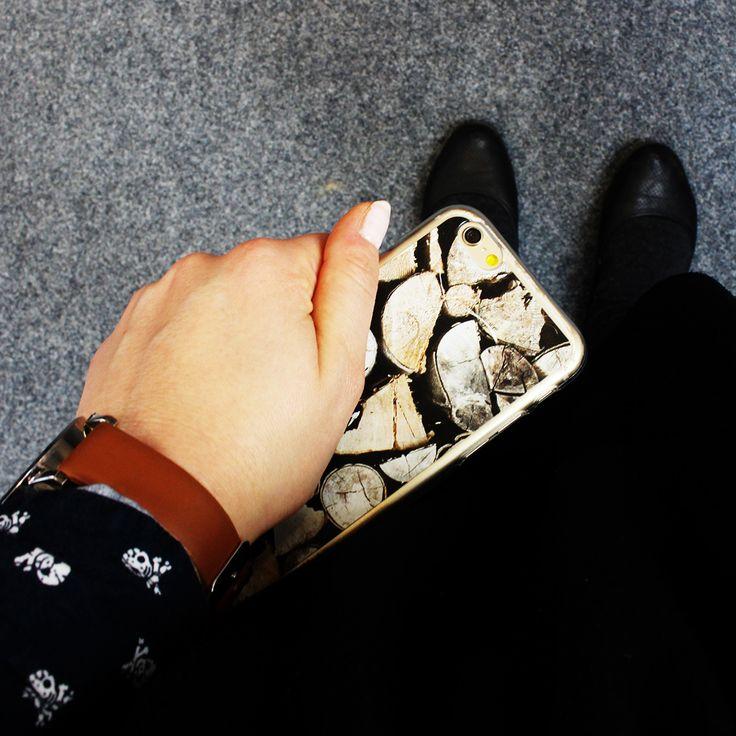 """Drewniane"" etui na iPhona 6:) Zapraszamy na www.etuo.pl #customcase #case #etuocase"